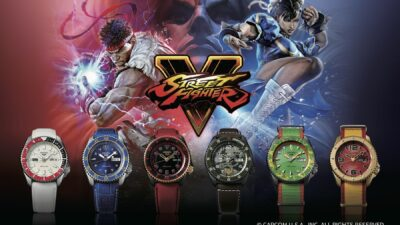 Seiko 5 Sports Street Fighter Watches Hadouken