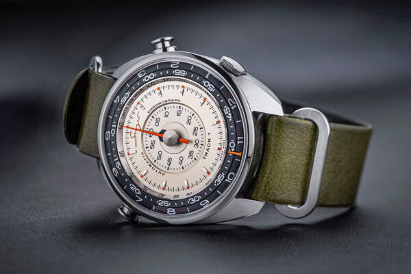 Singer Reimagined Track 1 Prototype chronograph 2