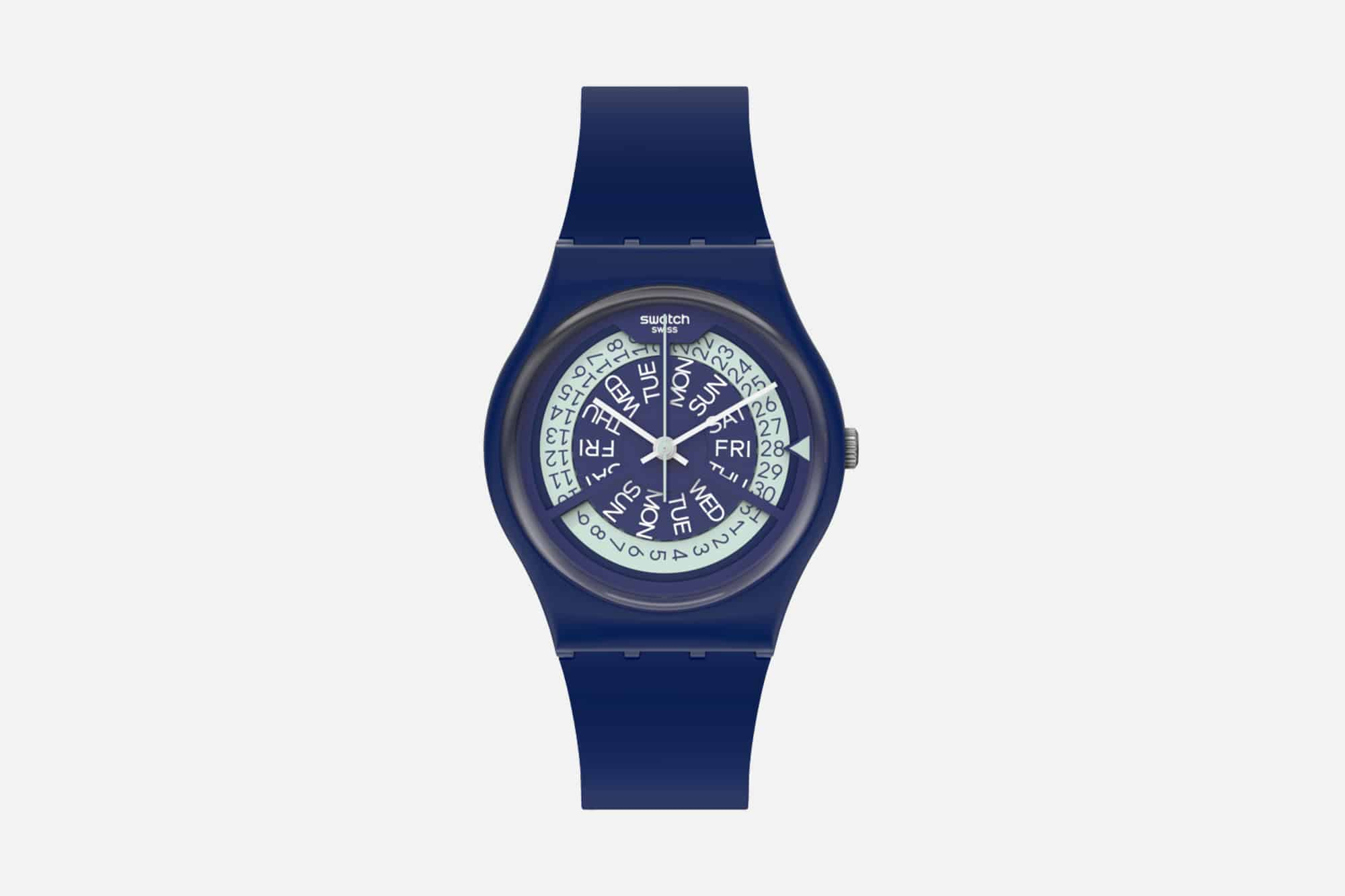 Swatch Day Date N-Igma Navy ref. GN727