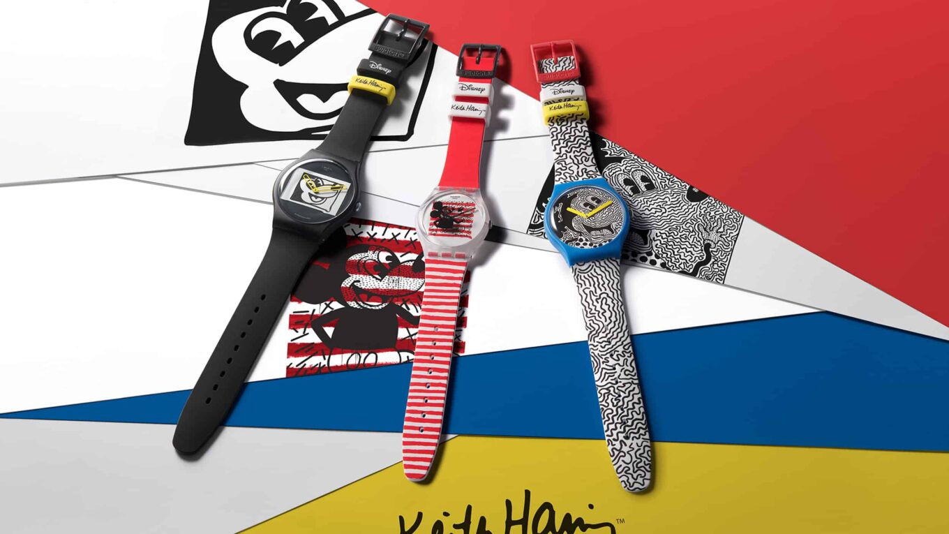Swatch Disney Mickey Mouse Keith Haring 1