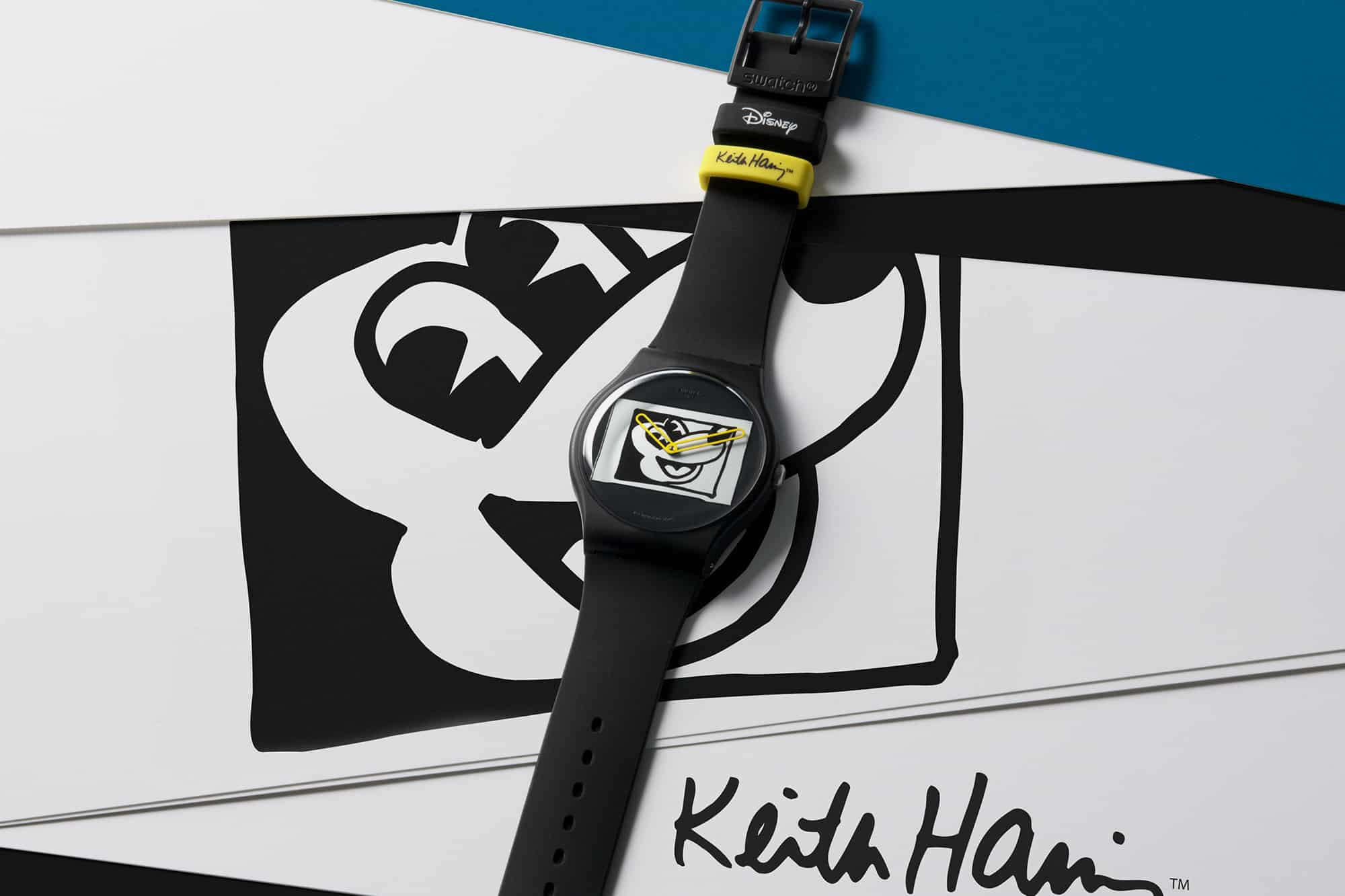 Swatch Disney Mickey Mouse Keith Haring 2