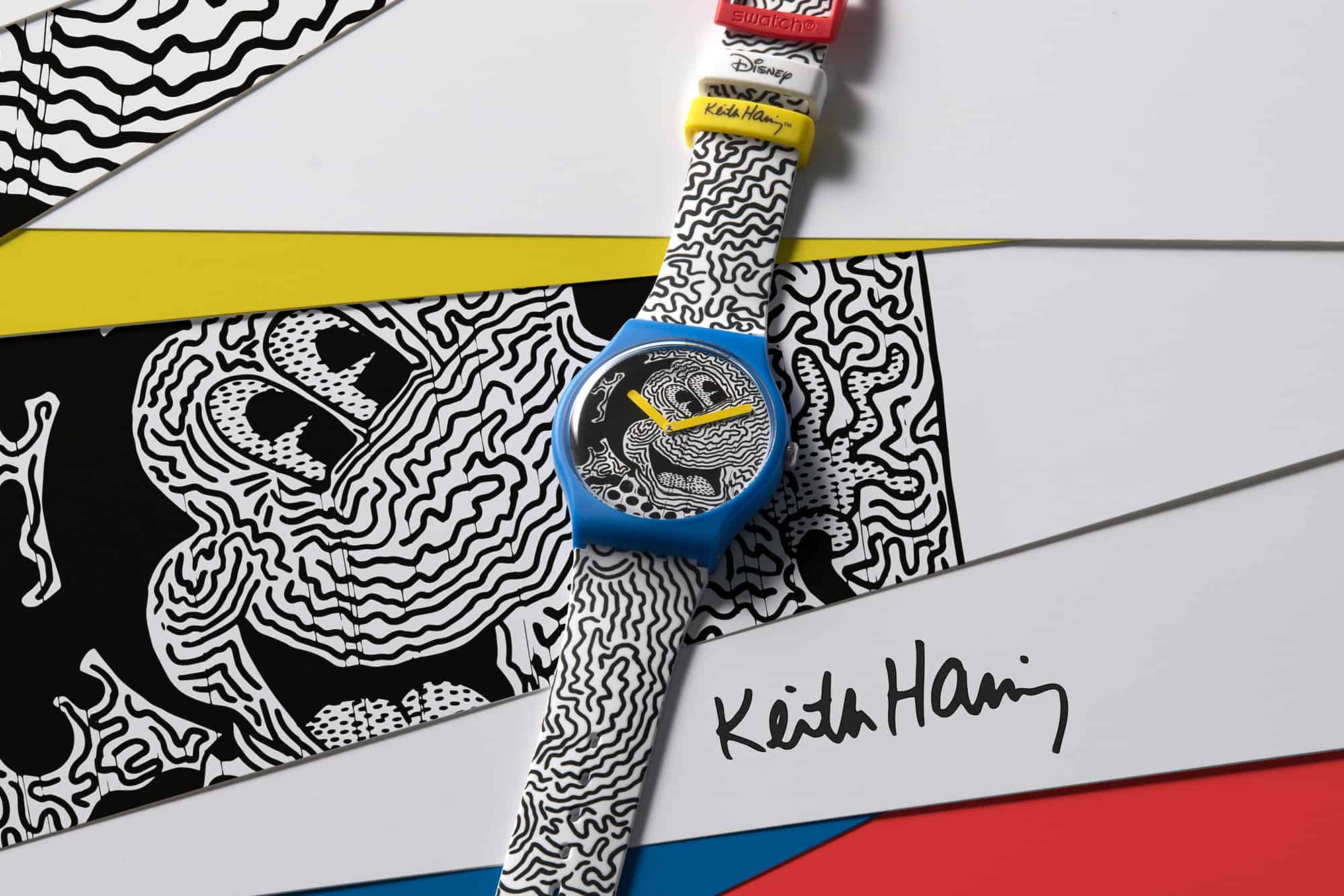 Swatch Disney Mickey Mouse Keith Haring 3
