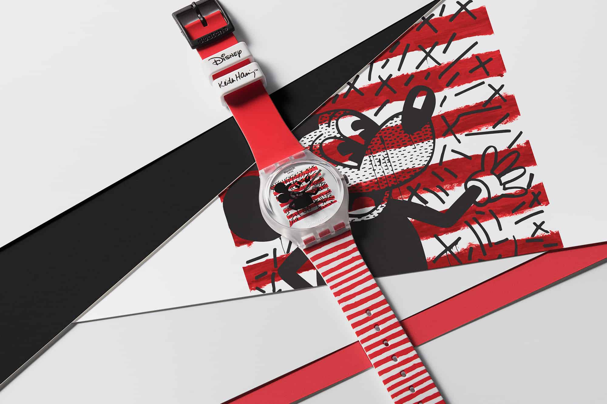 Swatch Disney Mickey Mouse Keith Haring 4