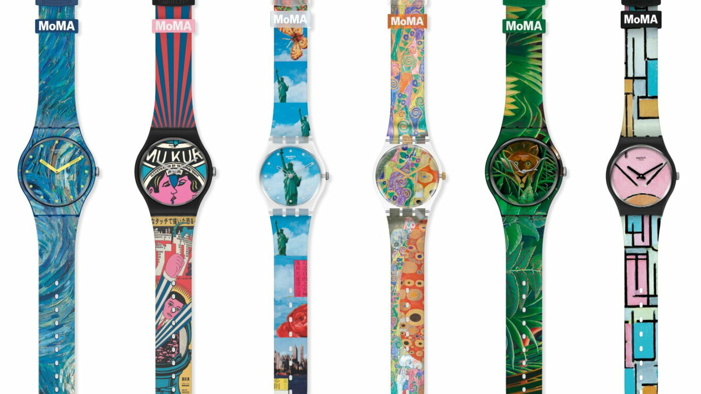 Swatch X MoMA 01