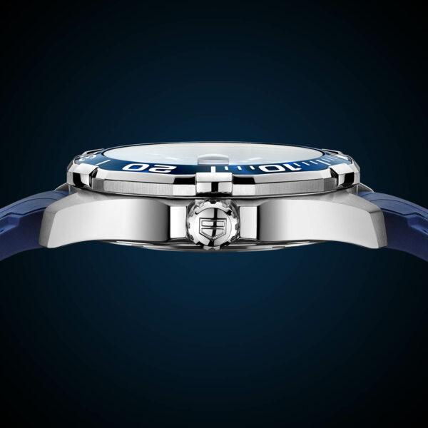 TAG Heuer Aquaracer 43mm Calibre 5 Automatic Tortoise Shell Effect Blue WAY201P.FT6178 2