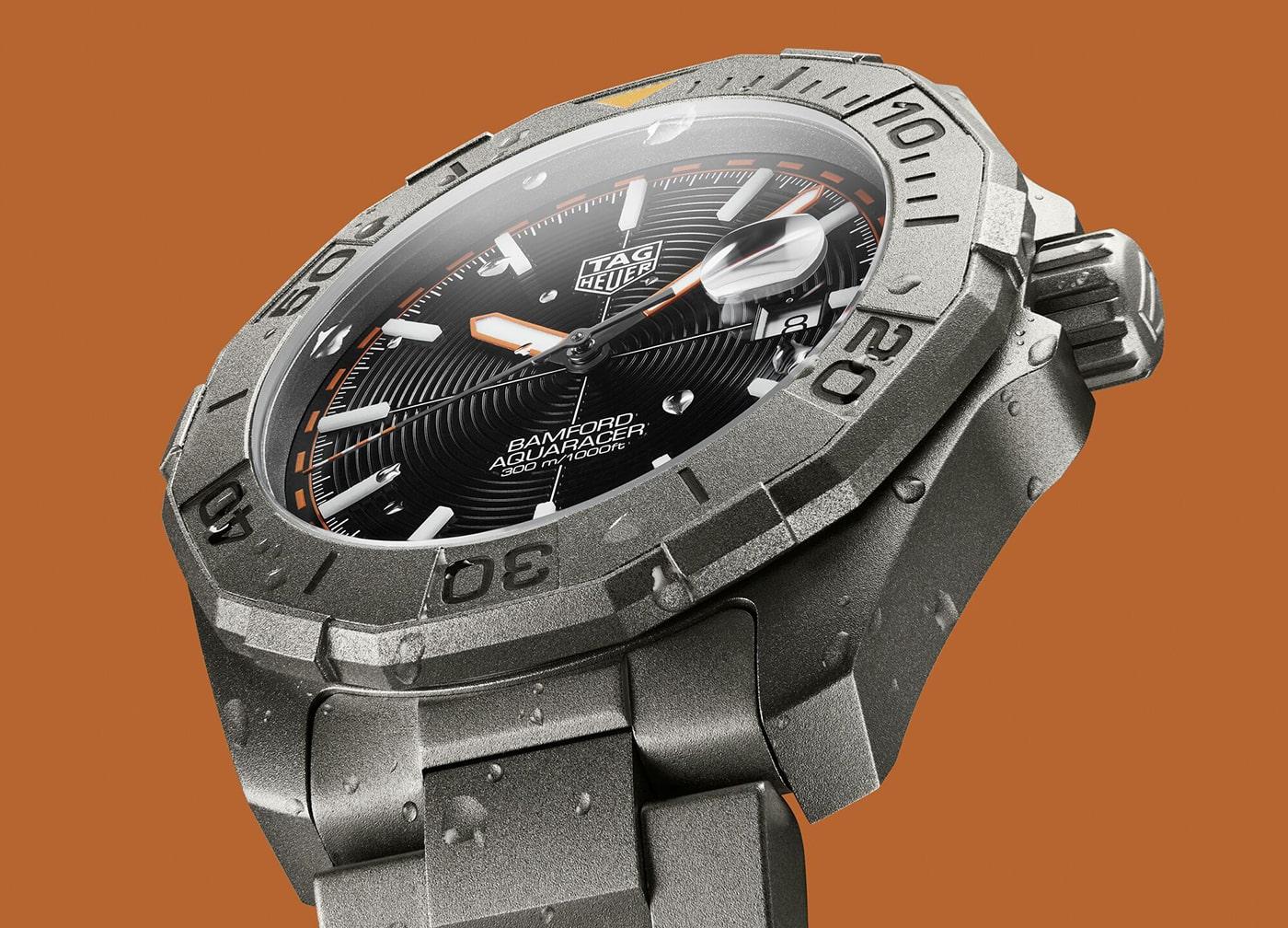 TAG Heuer Aquaracer Bamford Limited Edition 4 min
