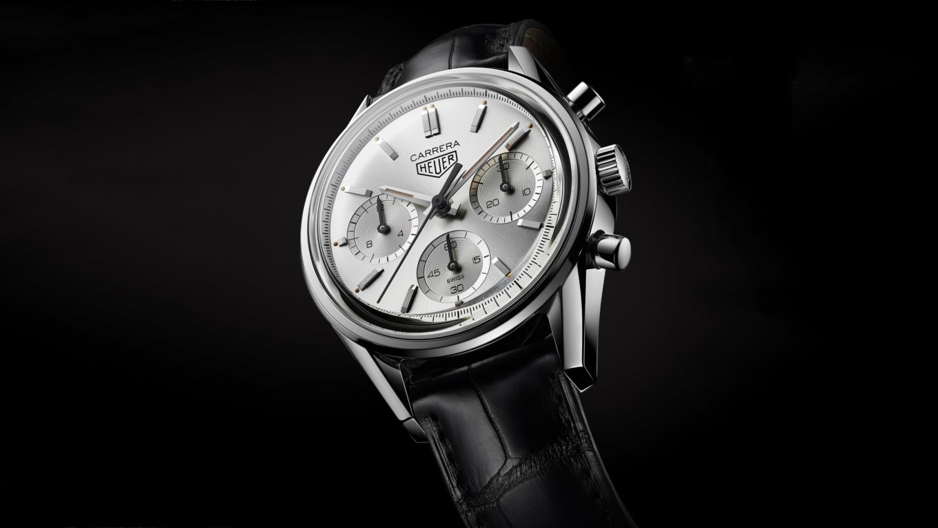 TAG Heuer Carrera 160 Years Silver min