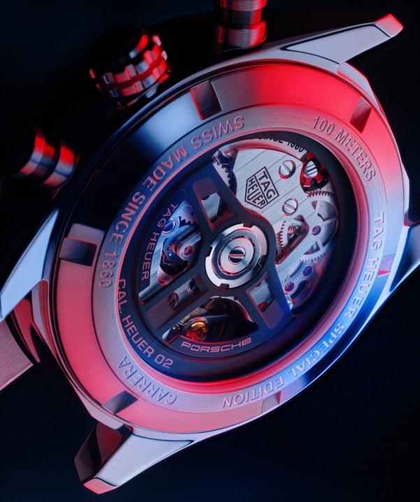 TAG Heuer Carrera Porsche Chronograph Calibre Heuer 02