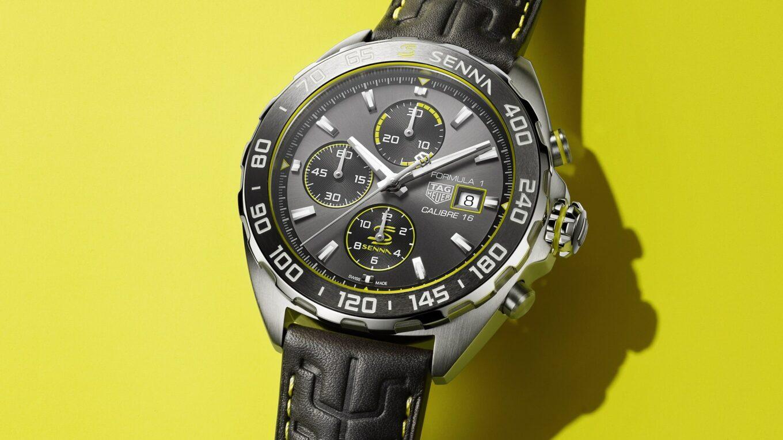 TAG Heuer Formula 1 Senna Special Edition 2020 automatic chronograph 1 min