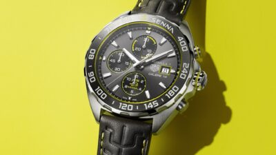 TAG Heuer Formula 1 Senna Special Edition 2020 automatic chronograph 1 min