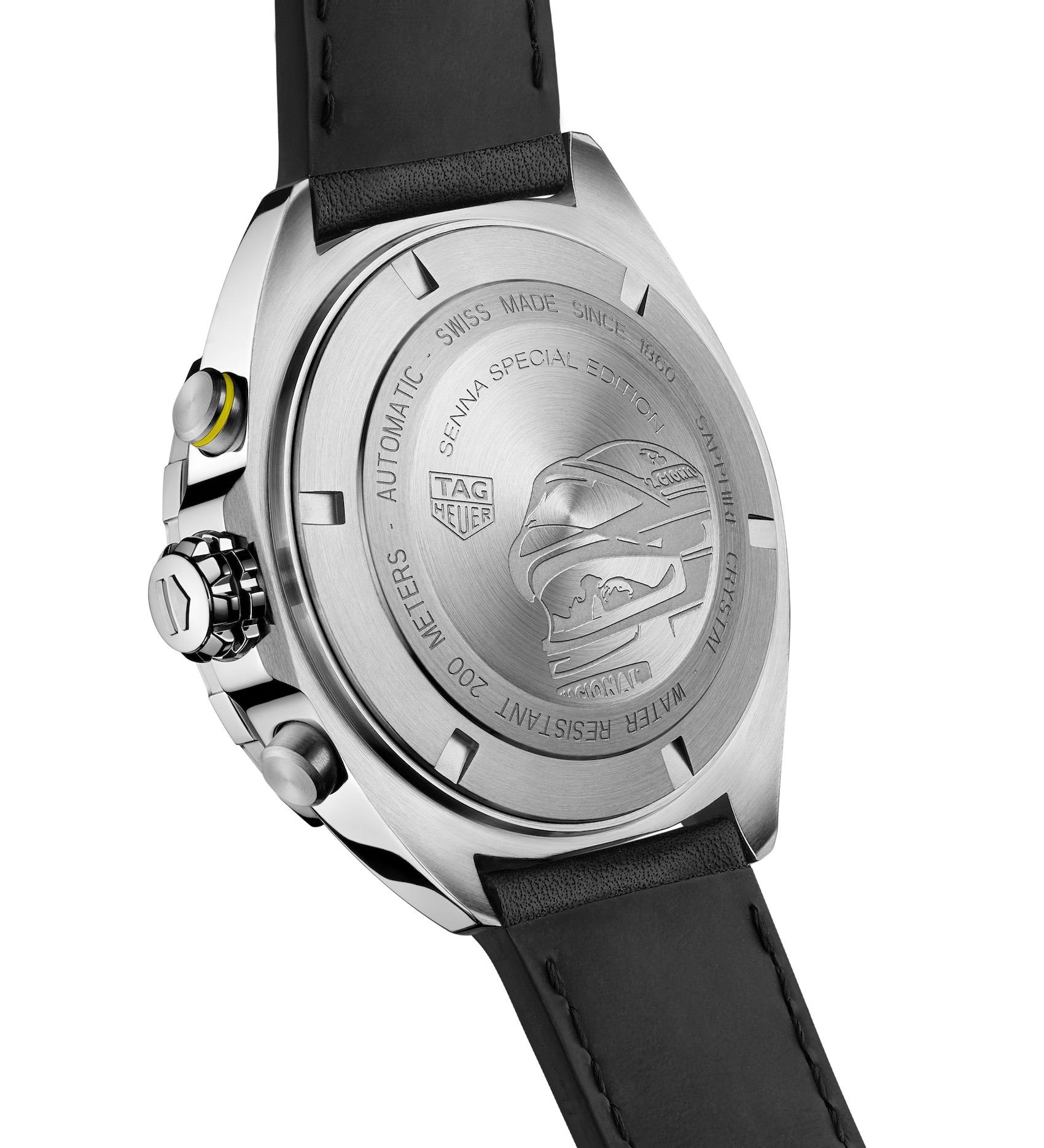 TAG Heuer Formula 1 Senna Special Edition 2020 automatic chronograph 3