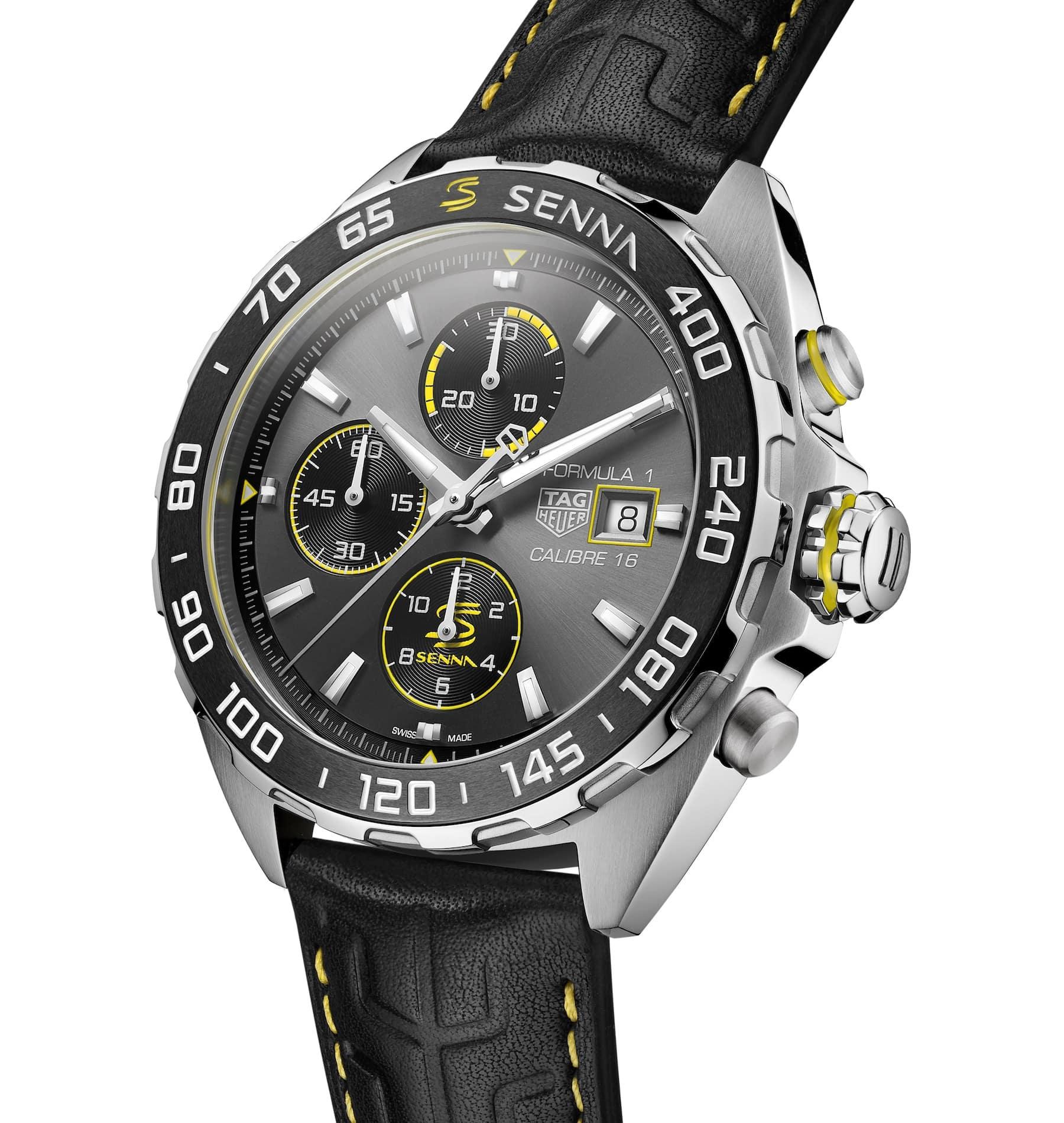 TAG Heuer Formula 1 Senna Special Edition 2020 automatic chronograph 5 min