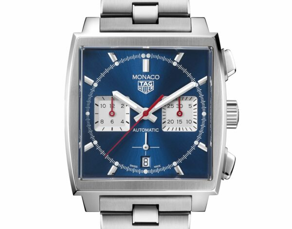 TAG Heuer Monaco Chronograph 39mm Calibre Heuer 02 Automatic Watch 4