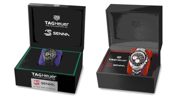 TAG Heuer Senna Special Editions 2019 min