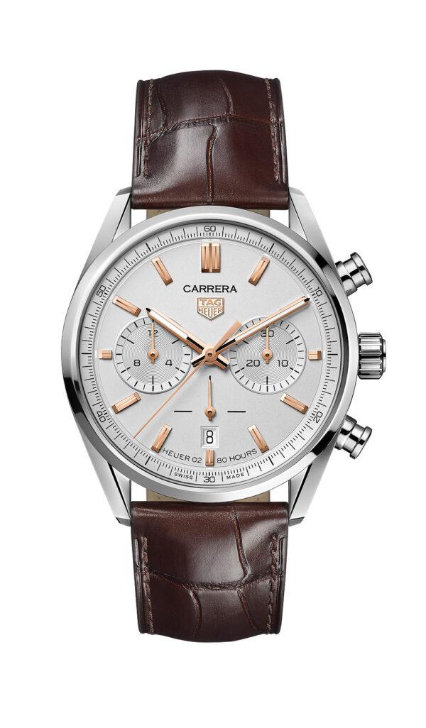 TAG Heuer Carrera Chronograph silver 1000