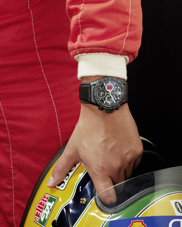 TAG Heuer new Carrera Senna Editions