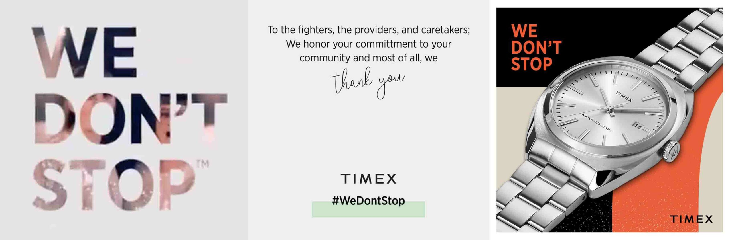 Timex We Dont Stop 2