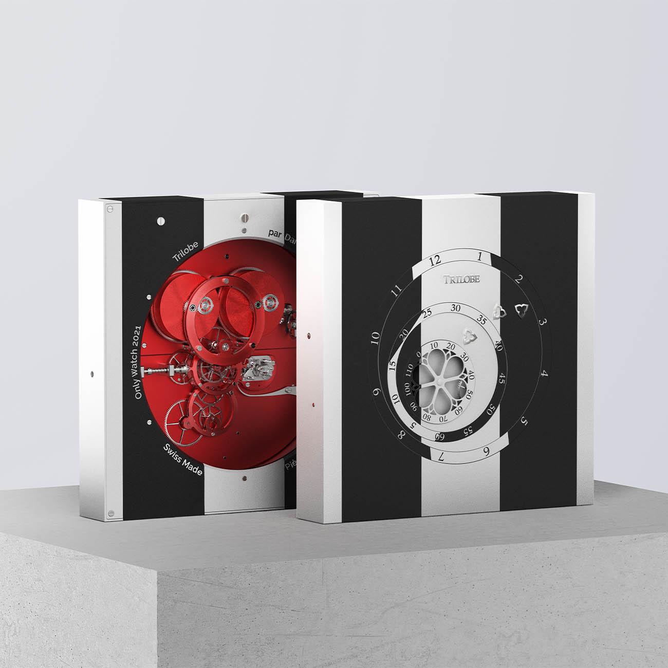 Trilobe x Daniel Buren Only Watch 2021