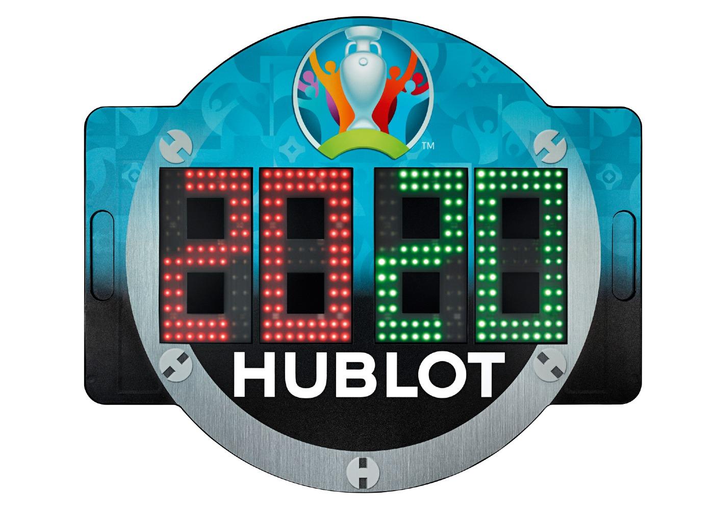 UEFA EURO 2020 Hublot 4th Referee Board 1
