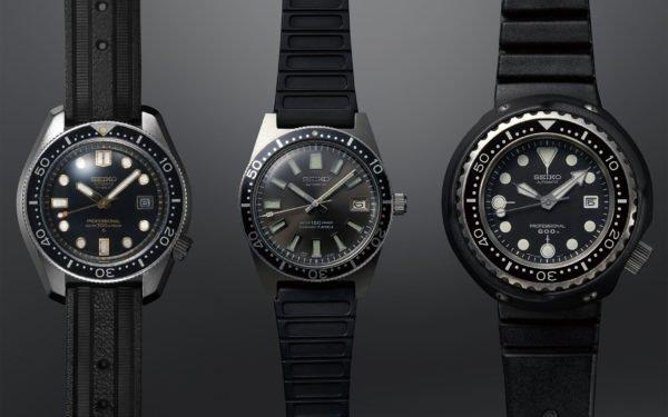 Vintage Seiko Dive Watches 1968 Hi beat Diver 300m 1965 62MAS 150m 1975 Professional Diver 600m