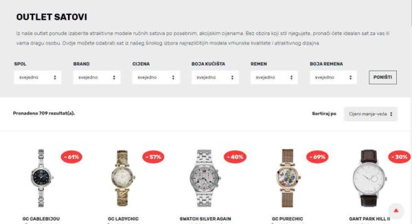 Watch Centar outlet