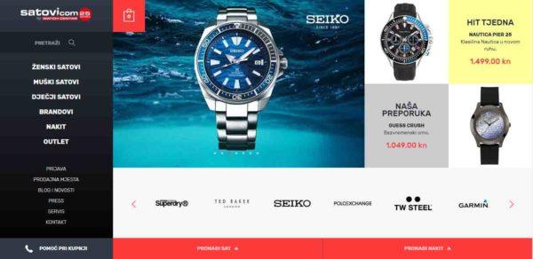 Web stranica satovi.com