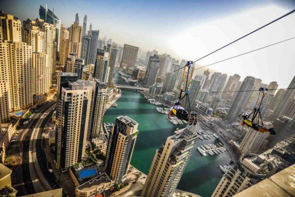 X Line Dubai Marina Zipline