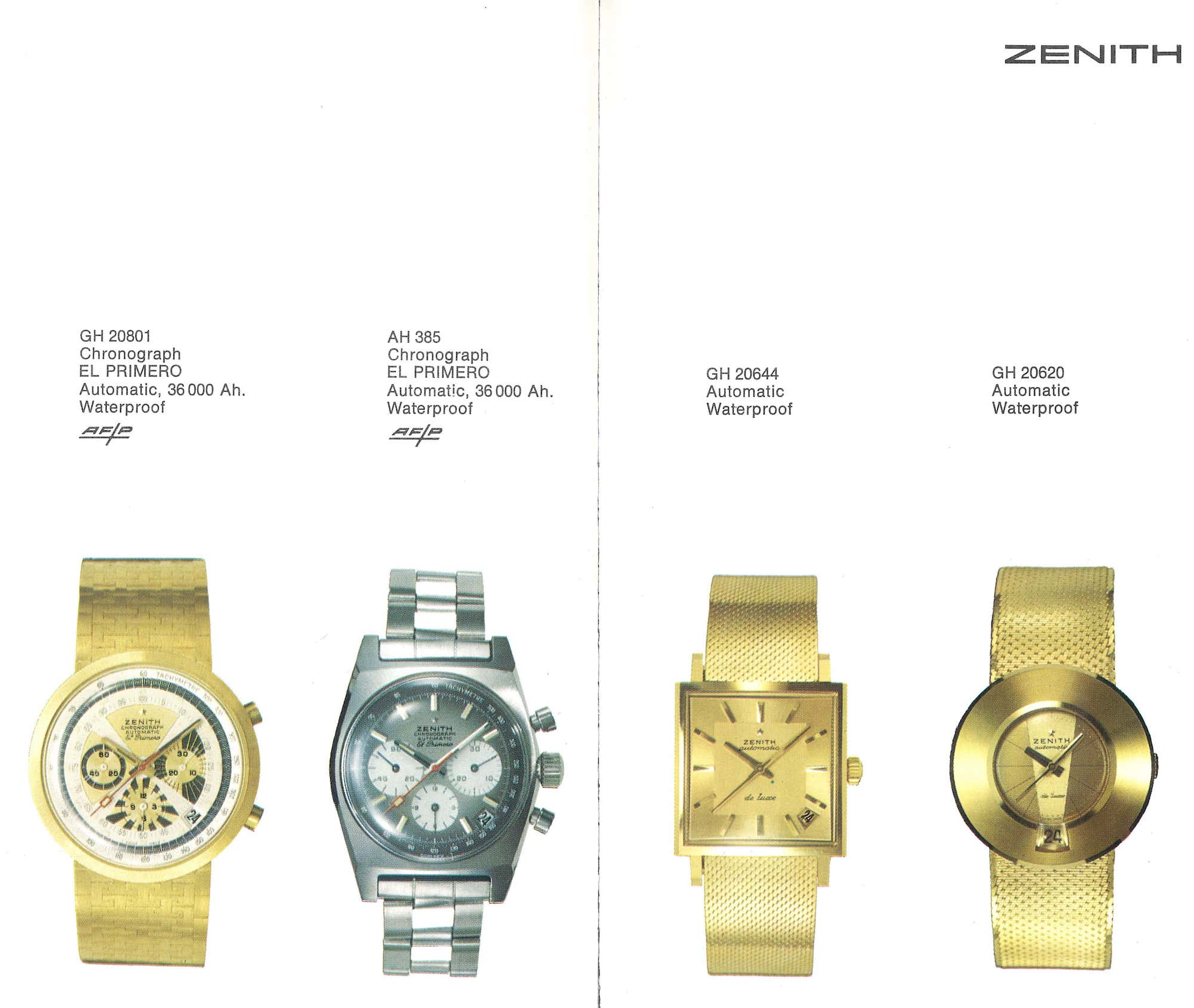 ZENITH HERITAGE 1969 1970 3 min