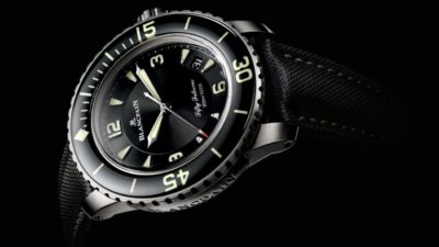 Blancpain Fifty Fathoms Automatique titanium