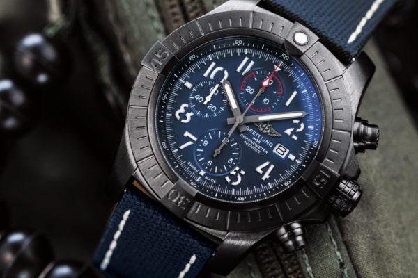 breitling 03 super avenger chronograph 48 night mission 1