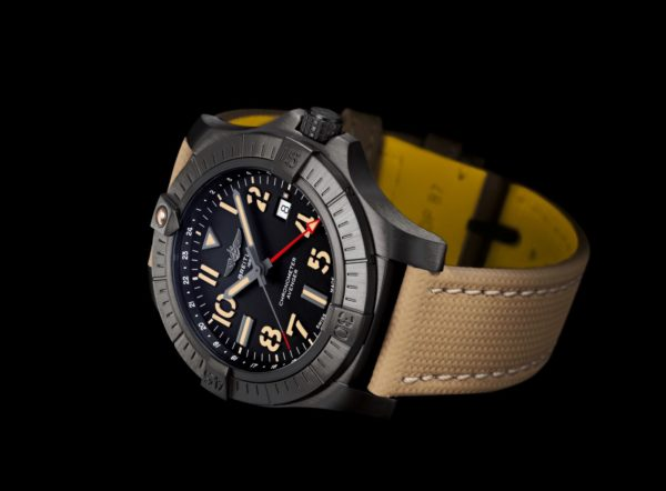 breitling 10 avenger automatic gmt 45 night mission 2