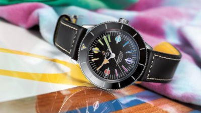 breitling Superocean Heritage 57 rainbow Limited Edition