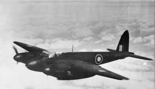 breitling archive image of a de havilland d.h.98 mosquito in its nightfighter version 1 min