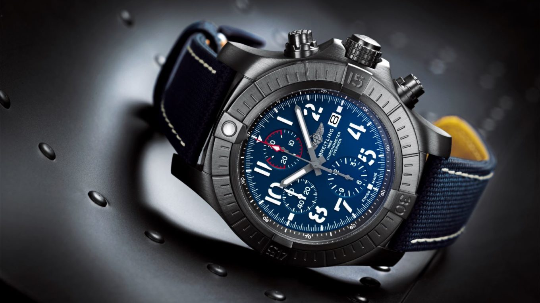 breitling super avenger chronograph 48 night mission