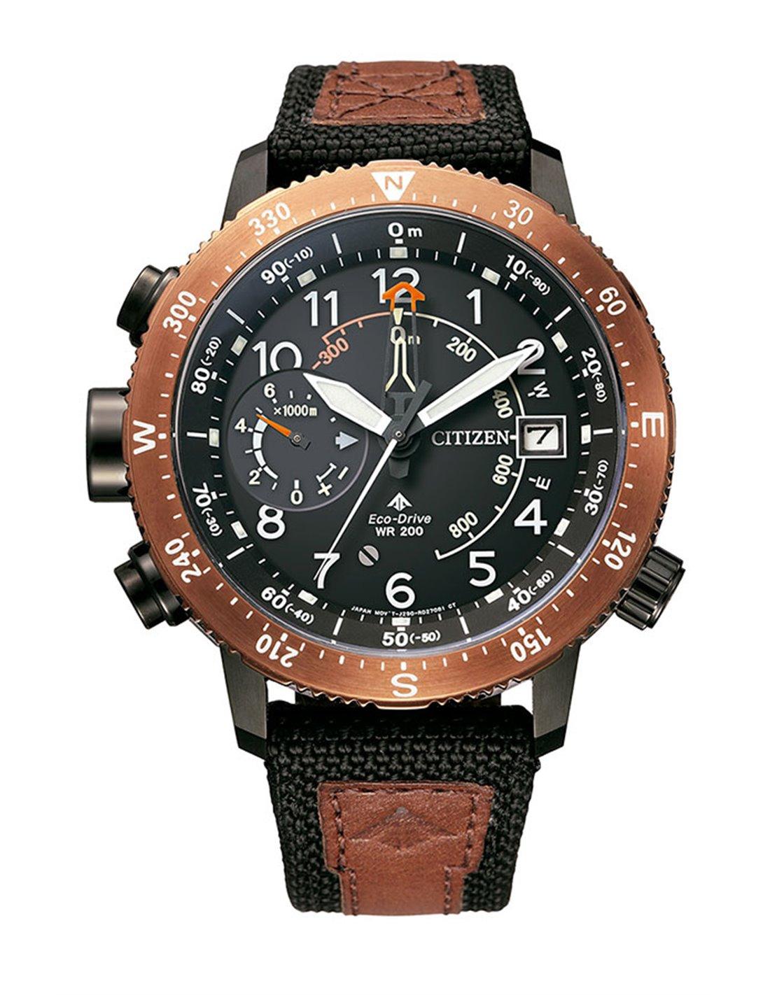 citizen eco drive promaster altichron 47mm watch bn4049 11e