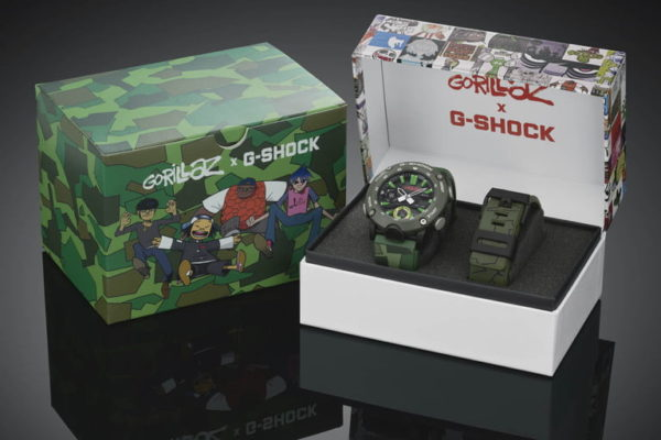 g shock gorillaz watch