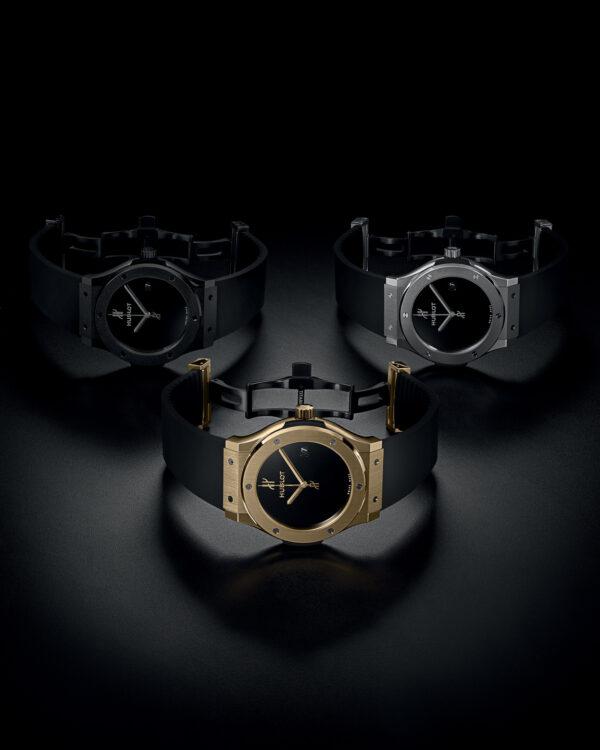 hublot 40th anniversary classic fusion xl collection