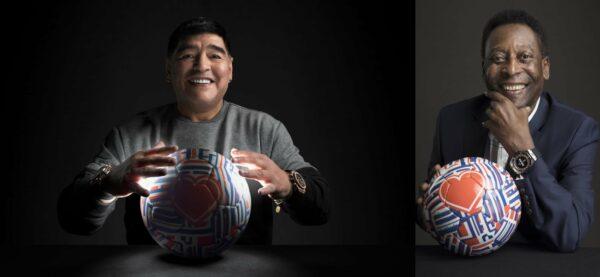 Maradona & Pele ambasadori Hublot satova