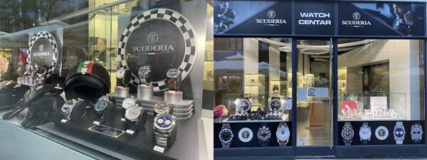 CT Scuderia satovi u Zagrebu, Bogovićeva ulica, Watch Centar butig