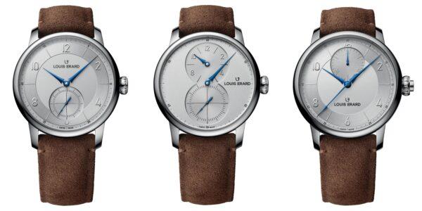Trio modela iz Excellence kolekcije čine Excellence Petite Seconde, Excellence Régulateur i Excellence Chronographe Monopoussoir