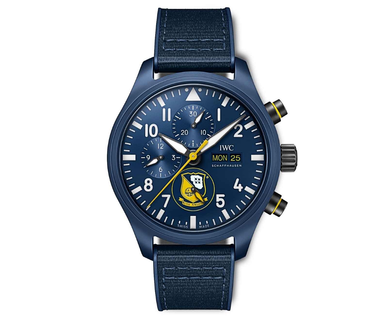 """The Pilot's Watch Chronograph Edition """"Blue Angels®""""(Ref. IW389109)"""