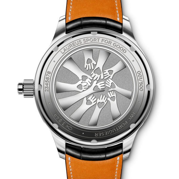 iwc Portugieser Monopusher chronograph Laureus 3