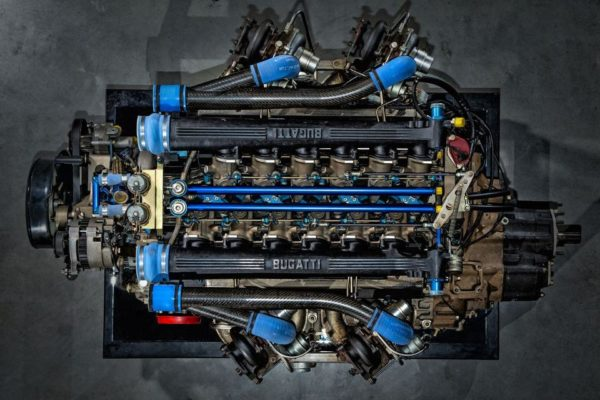 jacob & co. bugatti chiron engine