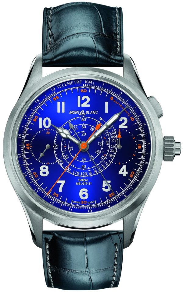 montblanc 1858 split second chronograph limited edition 100 min