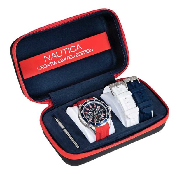 Nautica NST 12 Flags Chronograph Croatia Limited Edition NAP12CR01