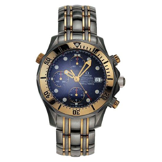 omega vintage seamaster chrono diver tl