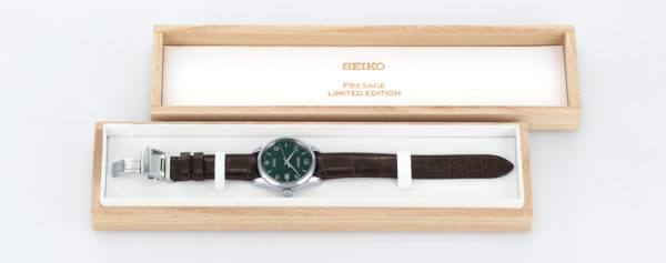 seiko presage green limited SPB111J1 box