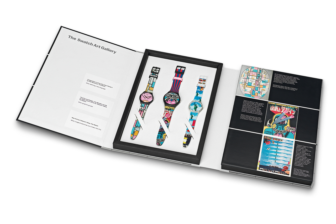swatch drops epic six watch modern art collaboration 10