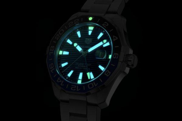 TAG Heuer Aquaracer GMT WAY201T night